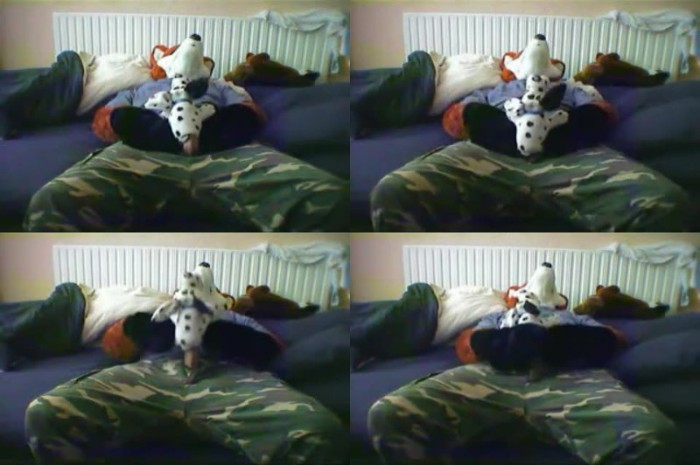 0552 ZooGay Dressed As Wolf Banging My Plushie - Dressed As Wolf Banging My Plushie - Male Bestiality Porn