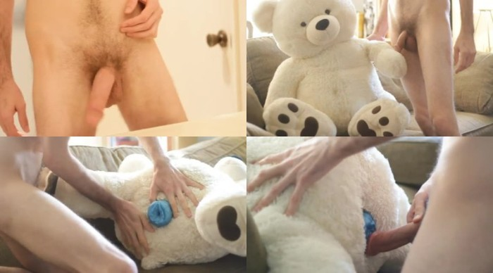 0554 ZooGay Hot Young Guy Fucks A Large Stuffed Bear - Hot Young Guy Fucks A Large Stuffed Bear - Male Bestiality Porn